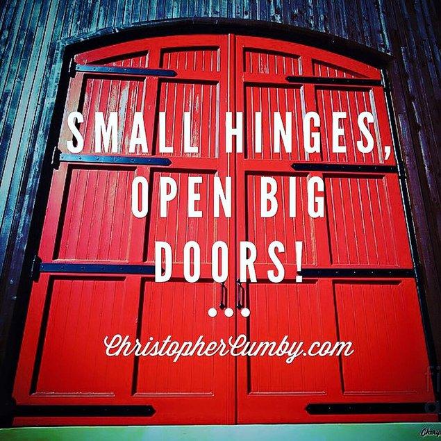 Opening Big Doors!