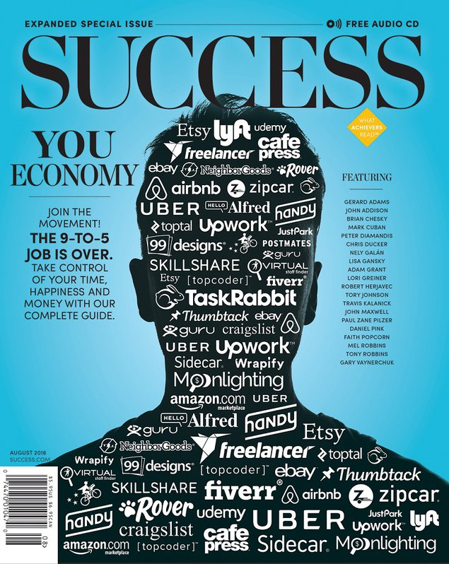 Success Magazine - August 2018 Issue - You Economy