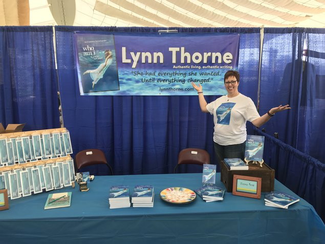 My booth at Cville Pride