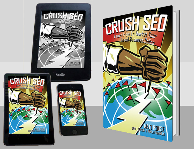 CRUSH SEO Book Pre-Sale Crowd Funding